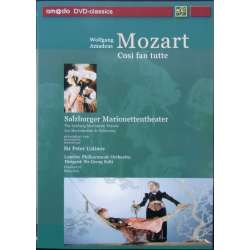 Mozart: Cosi fan Tutte. Georg Solti. Berganza, Lorengar, Krause. London PO. 1 DVD. Amado