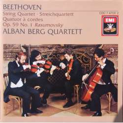 Beethoven: String Quartet. No. 7. Op. 59/1. Alban Berg Quartet. 1 CD. EMI