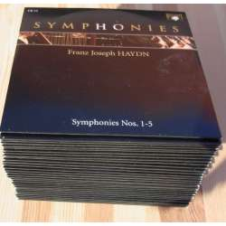 Haydn: The Symphonies 1 - 104. Philharmónia Hungarica. Adam Fischer. 33 CD. Brilliant Classics