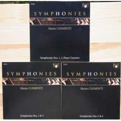 Clementi: Complete symphonies and concertos. 3 CD. Brilliant Classics