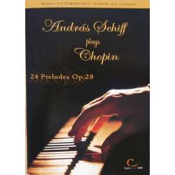 Frederic Chopin: 24 Preludes Op. 28, Andras Schiff. 1 DVD. Digital Classics.