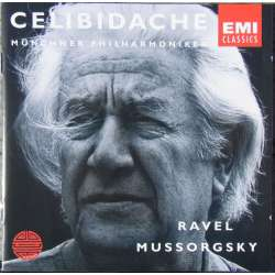 Mussorgsky: Pictures at an Exhibition. & Ravel: Bolero. Sergiu Celibidache. Munchner PO. 1 CD. EMI