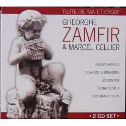 Zamfir & Cellier. 34 værker for panfløjte & orgel. 2 CD. Membran