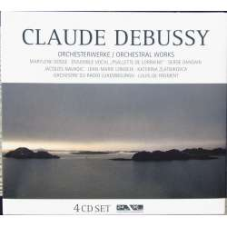 Debussy: Complete Orchestral works. Louis de Froment, Orchestre du Radio Luxembourg. 4 CD. Membran