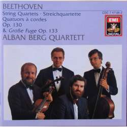 Beethoven: String Quartet. no. 13. Op. 130. & Grosse Fuge. Op. 133. Alban Berg Quartet. 1 CD. EMI