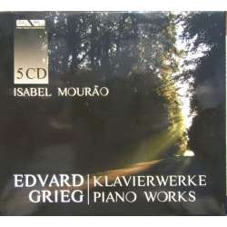 Grieg: Complete Piano works. Isabel Mourao. 5 CD. Membran
