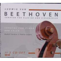 Beethoven: Cellosonate nr. 1-5. Pablo Casals & Rudolf Serkin. 2 CD. Membran