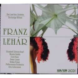 Franz Lehar: The Merry Widow & the land of smiles. Schwarzkopf, Gedda, Otto Ackermann. 2 CD.