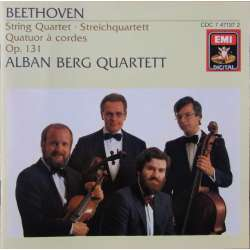 Beethoven: String Quartet no. 14. Op. 131. Alban Berg Quartet. 1 CD. EMI