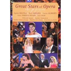 Great Stars of opera. Live in concert. 1 DVD. Euroarts