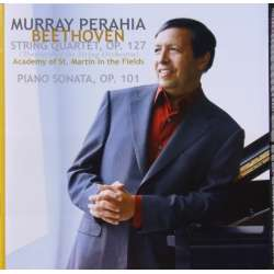 Beethoven: String Quartet. Op. 127, transcribed for strings orchestra. & Piano sonata no. 28. Murray Perahia. 1 CD. Sony.