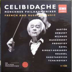Celibidache: French and Russian Music. 11 CD. EMI