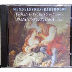 Mendelssohn: Violinkoncert in E minor. + Koncert for klaver, violin og strygere. 1 CD. Brilliant Classics