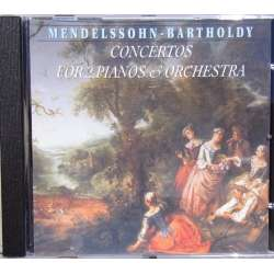 Mendelssohn: Koncerter for 2 klaverer og orkester. RIAS. Lajovic. 1 CD. Brilliant Classics