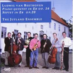 Beethoven: Septet, Op. 20. + Piano quintet op. 16. The Jutland Ensemble. 1 CD. Classico