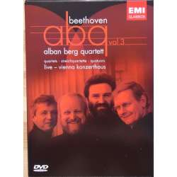 Beethoven: ABQ. Vol. 3. Alban Berg Quartet. 2 DVD. EMI.