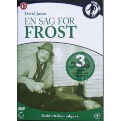 En sag for Frost. A minority of One, Widows and Orphans, Nothing to Hide. David Jason. 2 DVD.