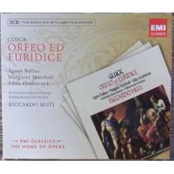 Gluck: Orfeo ed Euridice. Gruberova, Baltsa. Riccardo Muti. 2 CD. EMI. The home of opera