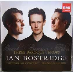 Ian Bostridge. Three Baroque Tenors. The English Concert. Bernard Labadie. 1 CD. EMI