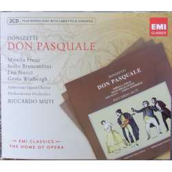 Donizetti: Don Pasquale. Riccardo Muti, Freni, Brusccantini, Nucci. 2 CD. EMI. The home of opera