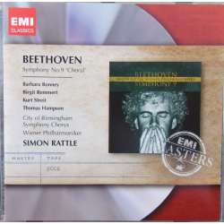 Beethoven: Symfoni nr. 9. Simon Rattle. Berliner PO. 1 CD. EMI Masters