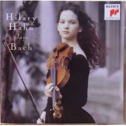 Bach: Partita nr. 2 & 3 for soloviolin. Hilary Hahn. 1 CD. Sony