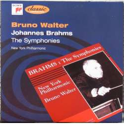 Brahms: Symfoni nr. 1 og 3. Bruno Walter, New York Philharmonic. 1 CD. Sony.