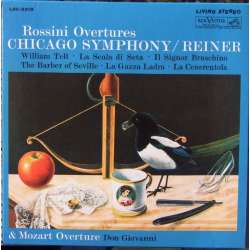 Rossini: Overtures. Fritz Reiner, Chicago Symphony Orchestra. 1 CD. RCA