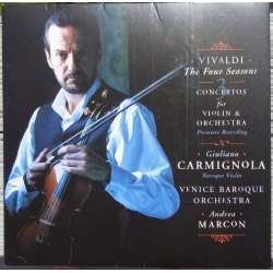 Vivaldi: The Four Seasons + 3 Violin concertos. Carmignola. 1 CD. Sony