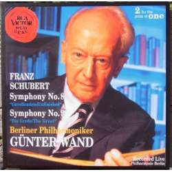 Schubert: Symfoni nr. 9. Gunter Wand, BPO. 1 CD. RCA