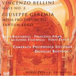 Bellini: Mass no. 2. & Gerema: Missa Pro Defundis. Douglas Bostock, Camerata Polifonica Siciliana. 1 CD. Classico. New Copy.
