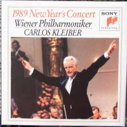 J. Strauss: New Year concert from Wien 1989. Carlos Kleiber, Wiener Philharmoniker. 1 CD Sony