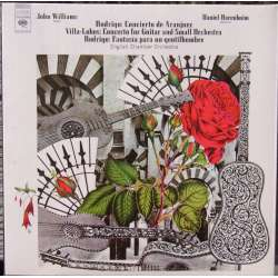 Rodrigo: Concierto de Aranjuez. & Villa-Lobos: Guitarkoncert. John Williams. 1 CD. Sony