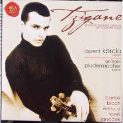 Tzigane: Musique d'Europe Centrale. Laurent Korcia + Georges Pludermacher. 1 CD. RCA
