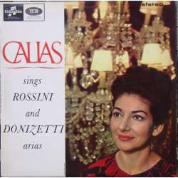 Maria Callas Sings Rossini and Donizetti arias. 1 LP. Columbia. SAX 2564