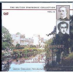 Bennett: Symfoni. & C. Potter: Symphony no. 7. Douglas Bostock, Czech CO. 1 CD. Classico