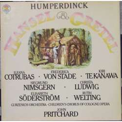 Humperdinck: Hansel und Gretel. John Prichard. 2 LP. CBS 79217