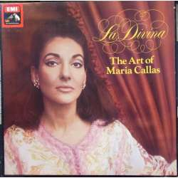 Maria Callas: La Divina. The art of Maria Callas. 4 LP. EMI. SLS 5057