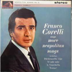 Franco Corelli sings more Neapolitan songs. 1 LP. EMI. ASD 516