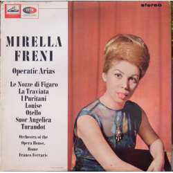 Mirella Freni: Operatic arias. 1 LP. EMI. ASD 622