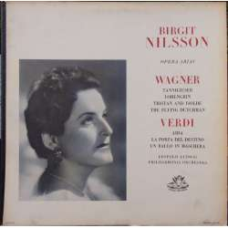 Birgit Nilsson. Opera arias by Wagner and Verdi. 1 LP. EMI Angel