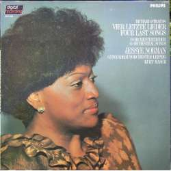 Richard Strauss: Four last songs. Jessye Norman, Kurt Masur, Gewandhaus. 1 LP. Philips vinyl 6514322.
