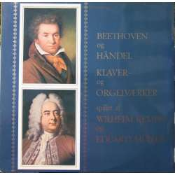 Beethoven: Piano and organ works. Wilhelm Kempff. & Eduard Müller. 1 LP. Archiv