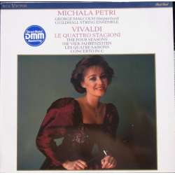 Vivaldi: The four seasons. Michala Petri. George Malcolm. 1 LP. RCA RL 86656. New Copy