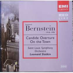 Bernstein: Candide overture, on the Town. Felix Slatkin. 1 CD. EMI. Red Line