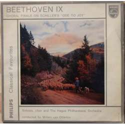 Beethoven: Symphony no. 9. 4 movement. Haag Philharmonic. Willem van Otterloo. 1 EP. Vinyl Philips