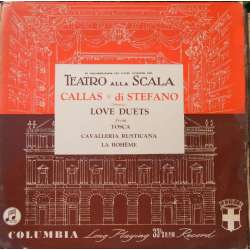 Maria Callas and di Stefano: Love duets. 1 LP. Columbia