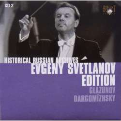 Glazunov & Dargomizhsky: Overtures. Evgeny Svetlanov. USSR. SO. 1 CD. Historical Russian Archives