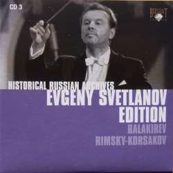 Mily Balakirev: Symphony no. 1. & Rimsky-Korsakov: The Snow Maiden. Evgeny Svetlanov. USSR SO. 1 CD. Russian Archives
