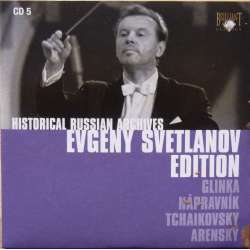 Glinka: Prince Kholmsky + A life for the Tsar. Evgeny Svetlanov, Bolshoi Theatre Orchestra. 1 CD. Historical Russian Archives